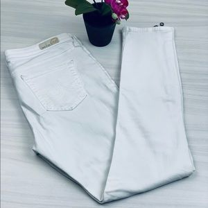 AG Adriano Goldschmied The Zip Skinny Jeans 29R